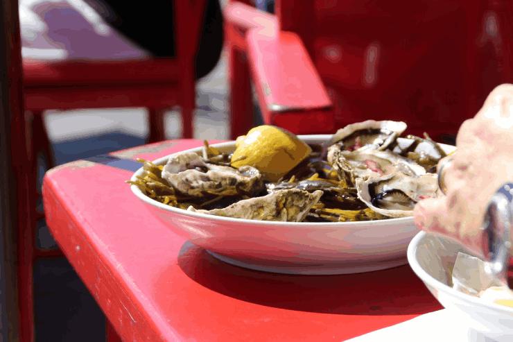 Ilha do Cardoso: restaurante
