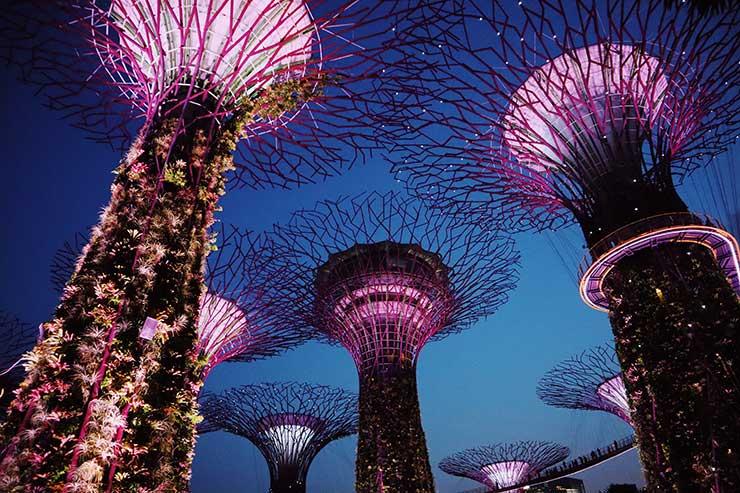 Porque Cingapura é tão rica?